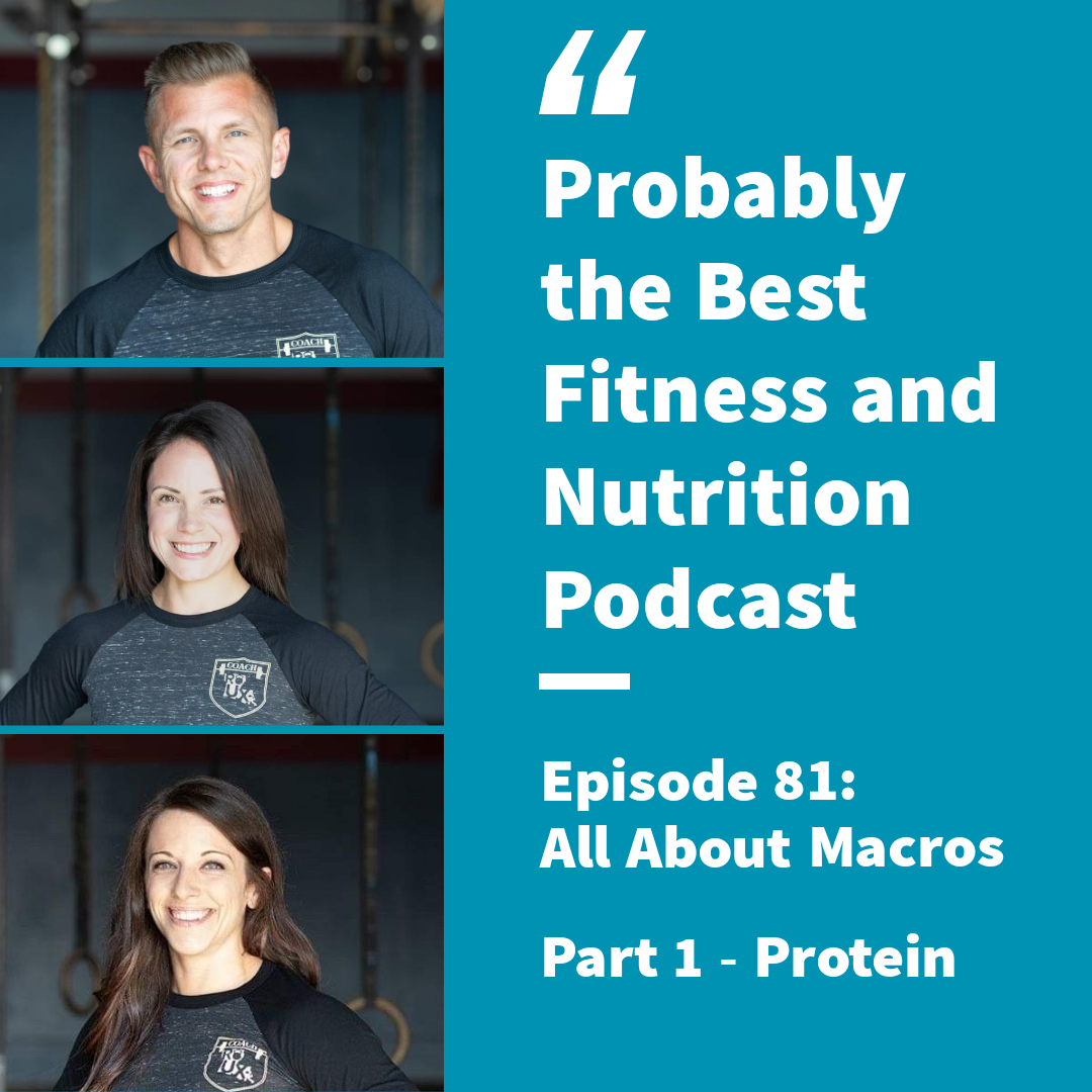 Ep. 81 – All About Macros: Pt. 1: Protein